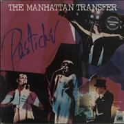 Click here for more info about 'The Manhattan Transfer - Pastiche - Orange Vinyl + Stickered Sleeve'