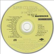 Click here for more info about 'The Mavericks - Super Colossal Smash Hits Of The 90's'