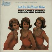 Click here for more info about 'The McGuire Sisters - Just For Old Time's Sake'