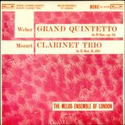 Click here for more info about 'The Melos Ensemble - Weber: Grand Quintetto / Mozart: Clarinet Trio'