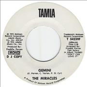 Click here for more info about 'The Miracles - Gemini'