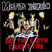 Click here for more info about 'Misfits - Day The Earth Caught Fire - Autographed'