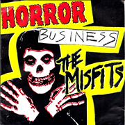 Click here for more info about 'Misfits - Horror Business - Yellow Vinyl - p/s + Inserts'