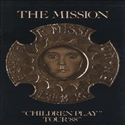Click here for more info about 'The Mission - Children Play Tour '88 + Poster'