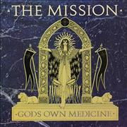 Click here for more info about 'The Mission - Gods Own Medicine - Gatefold Sleeve'