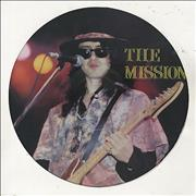 Click here for more info about 'The Mission - Interview Picture Disc'