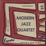 Click here for more info about 'The Modern Jazz Quartet - Concorde EP'