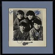 Click here for more info about 'The Monkees - Autographed Publicity Photograph'