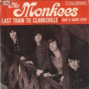 Click here for more info about 'The Monkees - Last Train To Clarksville - P/S'