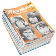 Click here for more info about 'The Monkees - Monkees Monthly - Set Of Issues 1-32'