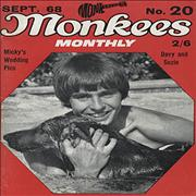 Click here for more info about 'The Monkees - Monkees Monthly #20'