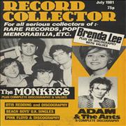 Click here for more info about 'The Monkees - Record Collector - July 1981'
