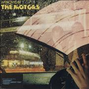 Click here for more info about 'The Motors - Approved By The Motors - Red Vinyl + Original Artwork'
