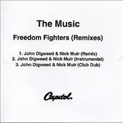 Click here for more info about 'The Music - Freedom Fighters - Remixes'