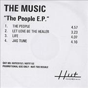 Click here for more info about 'The Music - The People EP'