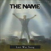 Click here for more info about 'The Name - Last War Song'