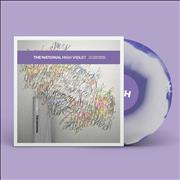 Click here for more info about 'The National - High Violet - 10th Anniversary Expanded Edition - Marbled White & Purple Vinyl'