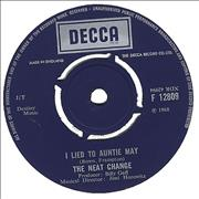 "The Neat Change I Lied To Auntie May UK 7"" vinyl"