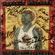 Click here for more info about 'The Neville Brothers - Brother's Keeper - Autographed'