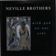 Click here for more info about 'The Neville Brothers - With God On Our Side - Inj + P/S'