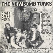 Click here for more info about 'The New Bomb Turks - Dogs On 45 Medley (split)'