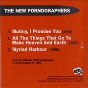 Click here for more info about 'The New Pornographers - Challengers Sampler'