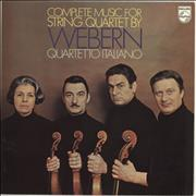 Click here for more info about 'The New Quartetto Italiano - Anton Webern: Complete Music For String Quartet'