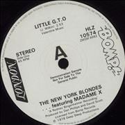 Click here for more info about 'The New York Blondes - Little G.T.O - A Label'