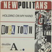 Click here for more info about 'The Newpolitans - Holding On My Hand + Insert'