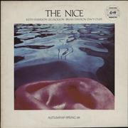 Click here for more info about 'The Nice - Autumn '67 - Spring '68 - stickered p/s + company insert'