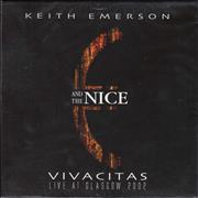 Click here for more info about 'The Nice - Vivacitas - Live At Glasgow 2002'