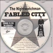 Click here for more info about 'The Nightwatchman - The Fabled City'