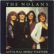 Click here for more info about 'The Nolans - Gotta Pull Myself Together - Picture Sleeve'