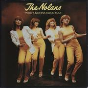 Click here for more info about 'The Nolans - Who's Gonna Rock You'