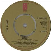 Click here for more info about 'The O'Jays - Brandy - 4pr'