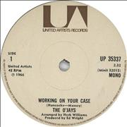 Click here for more info about 'The O'Jays - Working On Your Case'