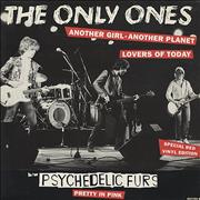 Click here for more info about 'The Only Ones - Another Girl Another Planet - Red Vinyl'