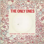 Click here for more info about 'The Only Ones - Another Girl, Another Planet - Deletion hole'