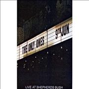 Click here for more info about 'The Only Ones - Live At Shepherds Bush'