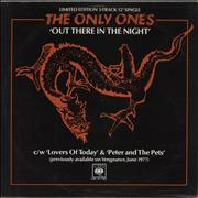 Click here for more info about 'The Only Ones - Out There In The Night - Blue vinyl'