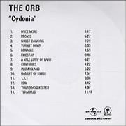 Click here for more info about 'The Orb - Cydonia'