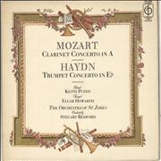 Click here for more info about 'The Orchestra Of St. James - Mozart: Clarinet Concerto in A / Haydn: Trumpet Concerto in Eb'