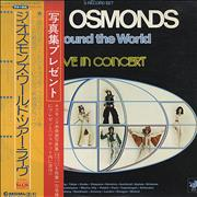 Click here for more info about 'The Osmonds - Around The World - Live In Concert + obi'
