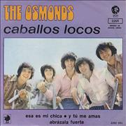 Click here for more info about 'The Osmonds - Caballos Locos - Crazy Horses'