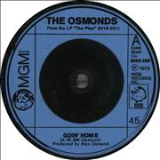 Click here for more info about 'The Osmonds - Goin' Home'