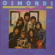Click here for more info about 'The Osmonds - Our Best To You'