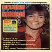 Click here for more info about 'The Osmonds - Record & Radio Mirror - November 1973'