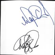 Click here for more info about 'The Osmonds - Set of Autographs'