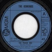 Click here for more info about 'The Osmonds - The Proud One - Wide centred'