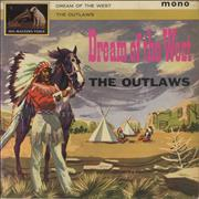 Click here for more info about 'The Outlaws (UK) - Dream Of The West - VG'